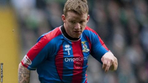Inverness winger Jonny Hayes