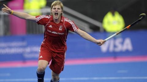 England's Ashley Jackson celebrates his goal