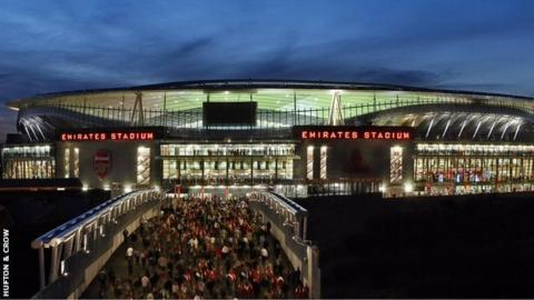 'The Emirates is an example of a stadium as a civic building'