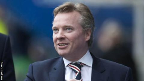 Rangers'majority shareholder Craig Whyte