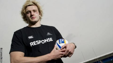 Glasgow Warriors lock forward Richie Gray