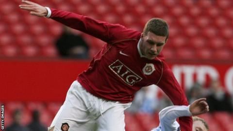 Phil Marsh in his Manchester United days