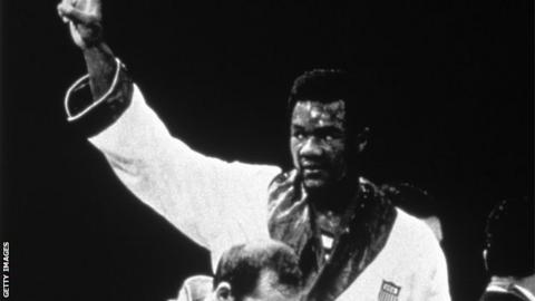 1968 Olympic heavyweight champion George Foreman