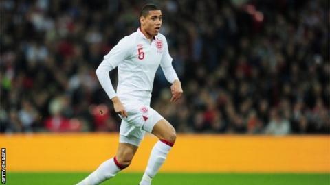 England defender Chris Smalling