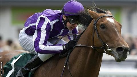 Joseph O'Brien and Astrology won the Dee Stakes at Chester