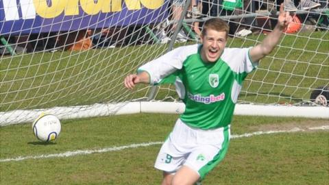 Guernsey FC's Dominic Heaume