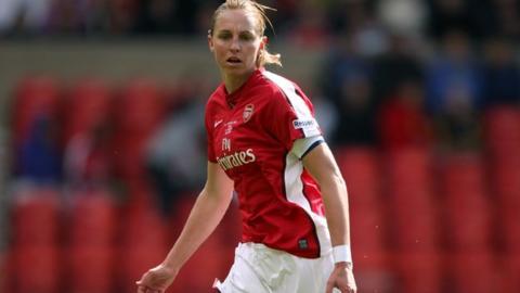 Former England defender Faye White