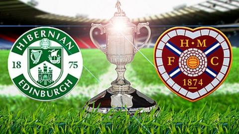 Hibs meet Hearts in Saturday's Scottish Cup final