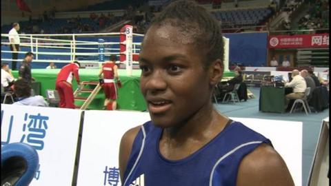 GB flyweight Nicola Adams