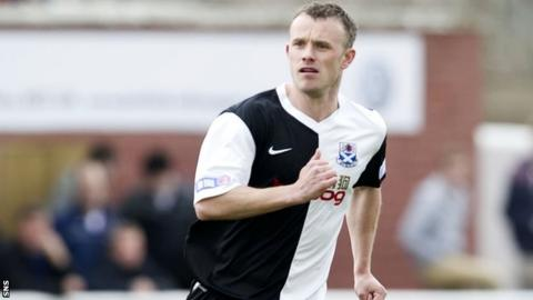 Mark Roberts is the new manager of Ayr United