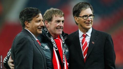 Tom Werner, Kenny Dalglish and John W Henry