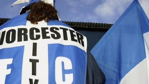 Worcester City flags