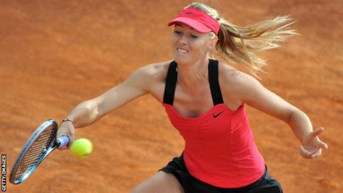 Russian Maria Sharapova