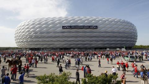 Munich's Allianz-Arena