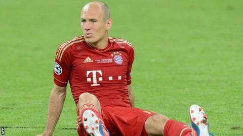 best sneakers 6fda5 515fa Arjen Robben admits penalty miss against Chelsea was ...