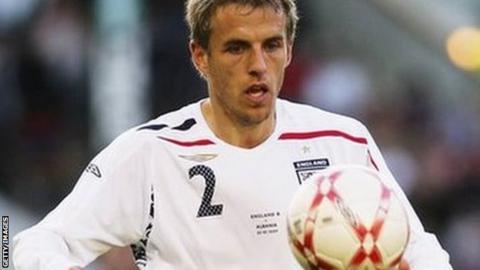 Former England defender Phil Neville