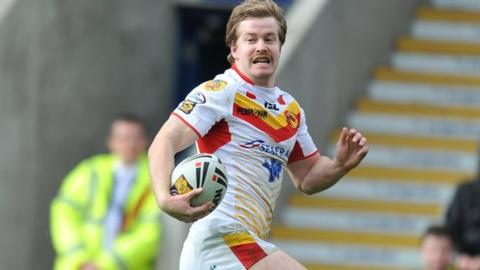 Catalan Dragons' Scott Dureau
