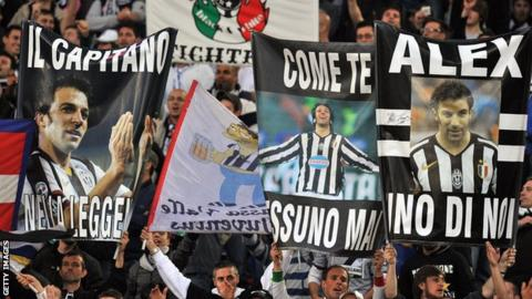 Alessandro del Piero ends his 19-year association with Juventus