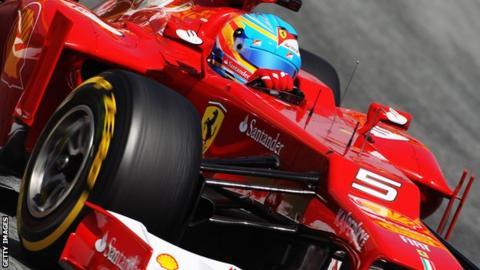 Fernando Alonso of Spain for Ferrari
