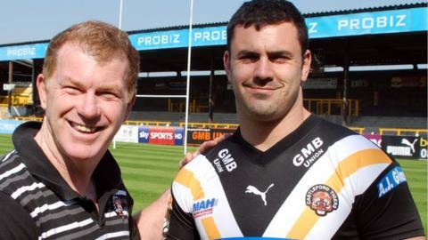 Ian Millward and Rhys Williams