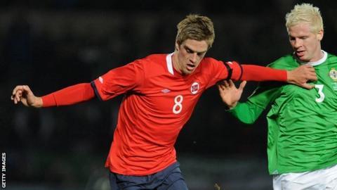 Norway midfielder Markus Henriksen