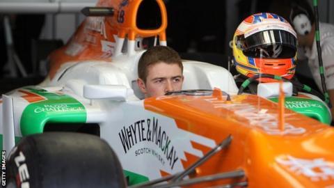 Di Resta's highest placing this season was sixth in Bahrain