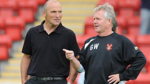Steve Burr (left) and Gary Whild
