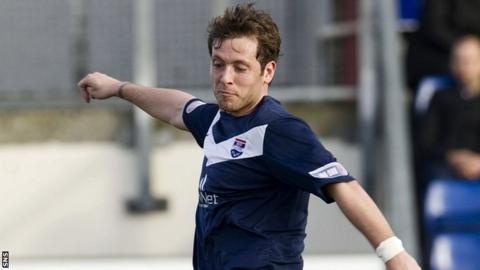 Ross County midfielder Paul Lawson