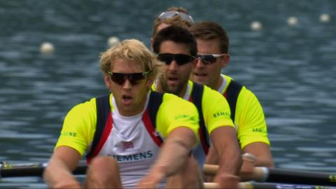 Great Britain's mens four