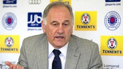 Prospective Rangers owner Charles Green