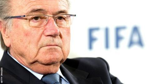 Sepp Blatter of Fifa