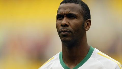 Former South Africa captain Lucas Radebe