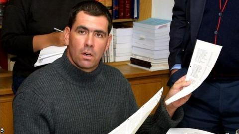 Former South Africa cricket captain Hansie Cronje