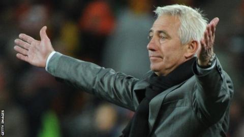 Netherlands manager Bert van Marwijk