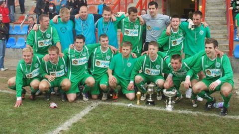 Guernsey after winning the 2012 Muratti
