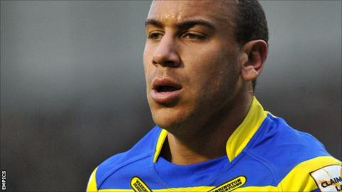 Warrington Wolves centre Matty Blythe