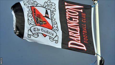 Darlington flag
