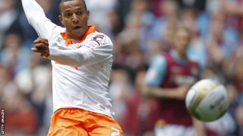 Matt Phillips, a product of the Wycombe youth system, in action for Blackpool