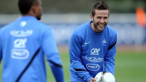 France midfielder Yohan Cabaye
