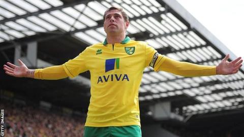 Norwich City striker Grant Holt