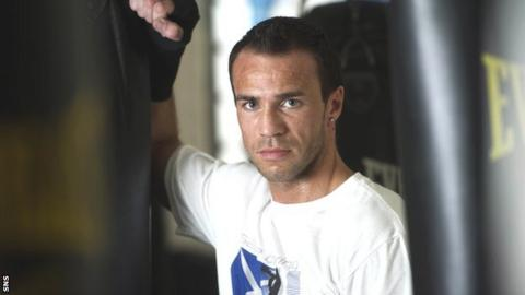Paisley light-middleweight Kris Carslaw