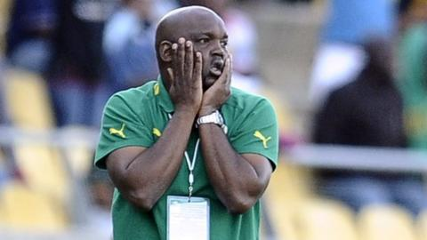 South Africa coach Pitso Mosimane