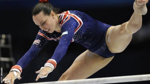 Beth Tweddle wins gold on return from injury
