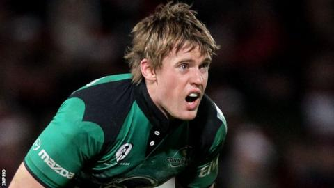 Niall O'Connor moved to Connacht last summer