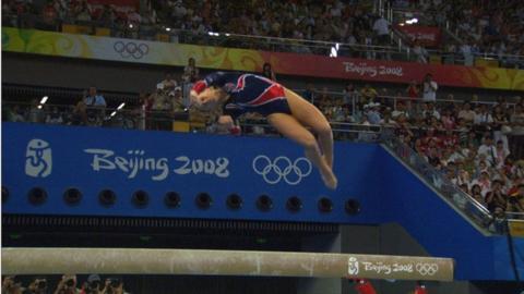 American gymnast Shawn Johnson