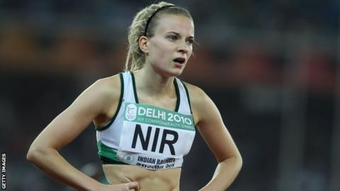 Joanna Mills is hoping to compete for Ireland in the 4x400m relay at this year's Olympics