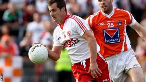 Brian McGuigan has put his Tyrone comeback on hold
