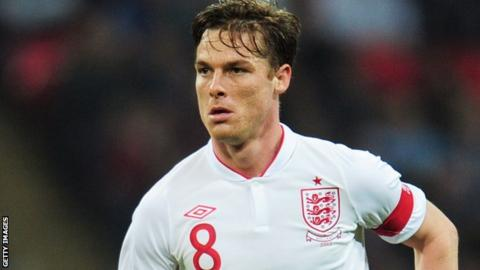 England and Tottenham midfielder Scott Parker