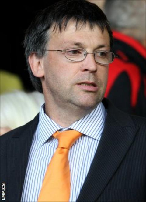 Blackpool chairman Karl Oyston