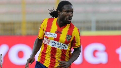 Nigeria and Lecce's Christian Obodo